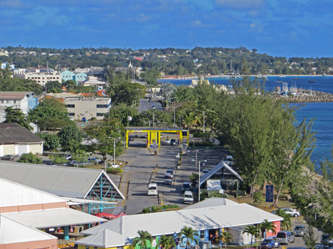 Barbados Cruise Port, Bridgetown Barbados