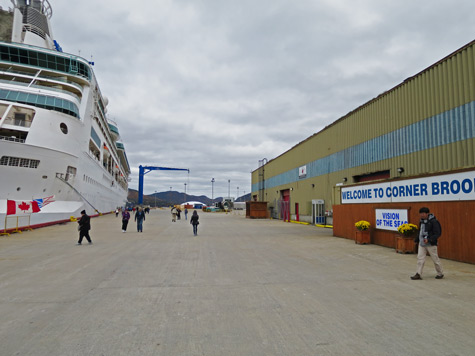 Corner Brook Cruise Terminal