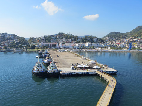 Port of Manzanillo, Mexico