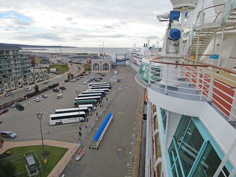 Saint John Cruise Port, New Brunswick
