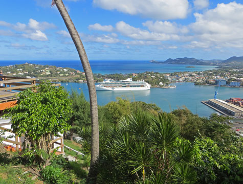 Castries St. Lucia Cruise Port