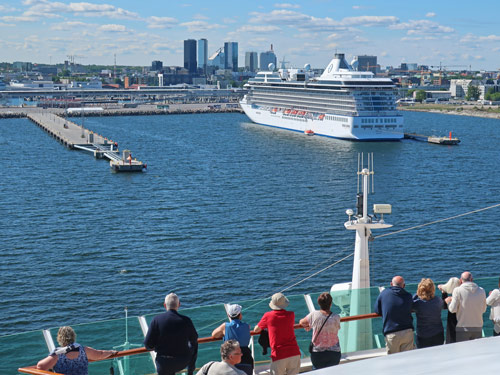 Tallinn Cruise Port, Estonia