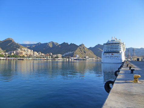 Tenerife Cruise Port, Canary Islands